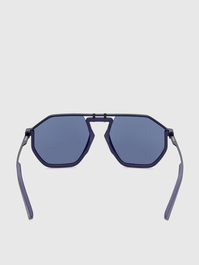 Diesel - DL0346, Azul - Gafas de sol - Image 4