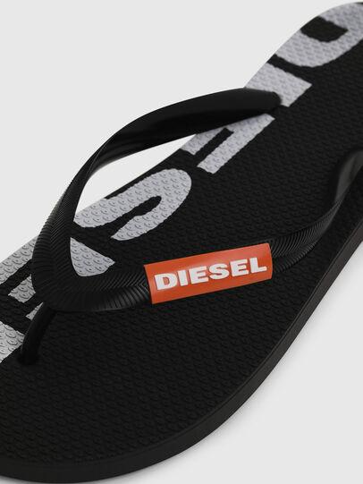 Diesel - SA-BRIIAN, Negro/Blanco - Chanclas - Image 3