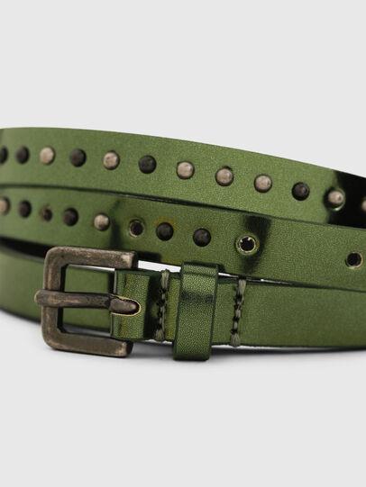 Diesel - B-DWRAP, Verde - Cinturones - Image 2