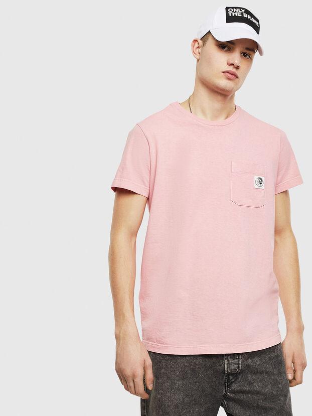T-WORKY-MOHI-S1, Rosa - Camisetas