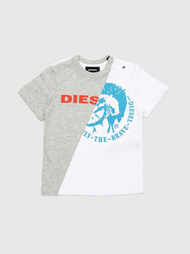 Diesel - TICAB, Blanco/Gris - Camisetas y Tops - Image 1