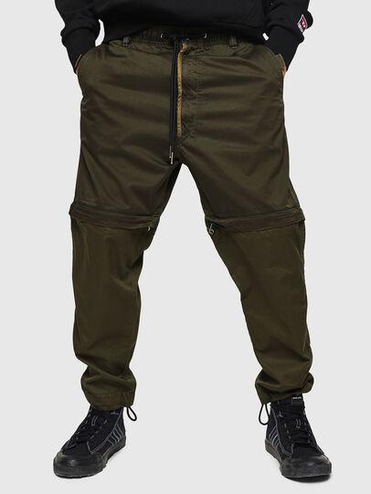 Diesel - P-CASHORT, Verde Militar - Pantalones - Image 1
