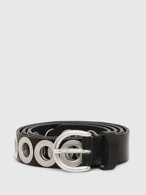 B-SPARK, Negro/Plata - Cinturones
