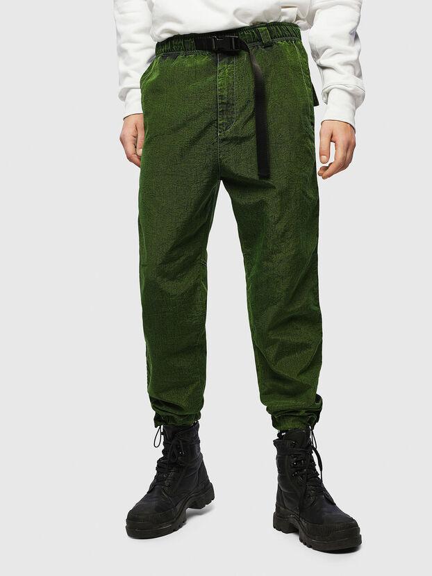 P-BERG, Verde - Pantalones