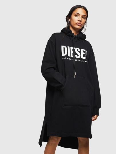 Diesel - D-ILSE-T, Negro - Vestidos - Image 1