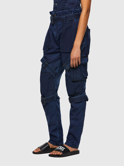 Diesel - D-Fedry JoggJeans® 0CBBZ, Azul Oscuro - Vaqueros - Image 7