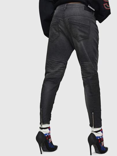 Diesel - Fayza JoggJeans 069GN, Negro/Gris oscuro - Vaqueros - Image 2