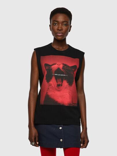 Diesel - T-PUNKYERN, Negro - Camisetas - Image 1