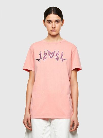Diesel - T-DARIA-A3, Rosa - Camisetas - Image 1
