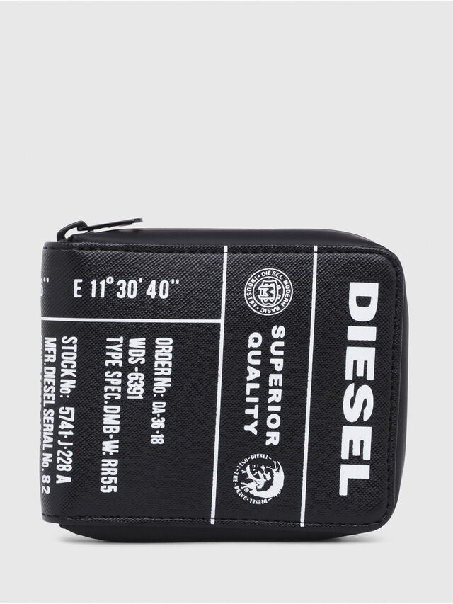 3fff633a2 Diesel - ZIPPY HIRESH S, Negro/Amarillo - Carteras Con Cremallera - Image 1
