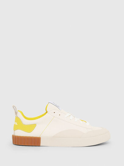 Diesel - S-BULLY LC, Blanco/Amarillo - Sneakers - Image 1