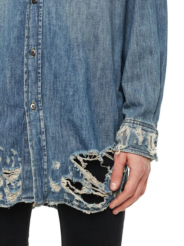 Diesel - SUVER-D, Blue Jeans - Camisas - Image 4