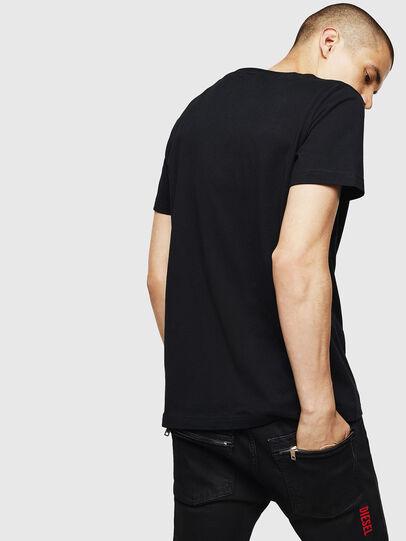 Diesel - T-DIEGO-B6, Negro - Camisetas - Image 2
