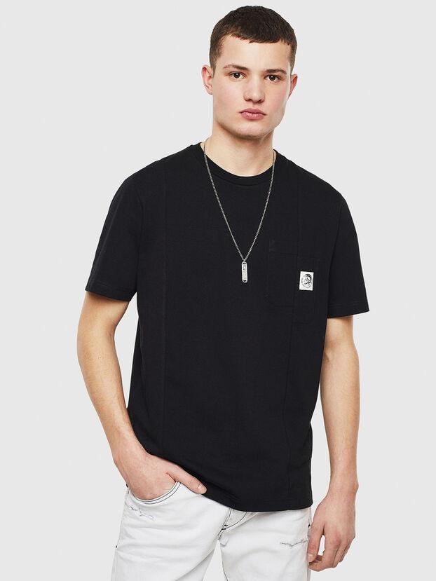 T-RISEN, Negro - Camisetas