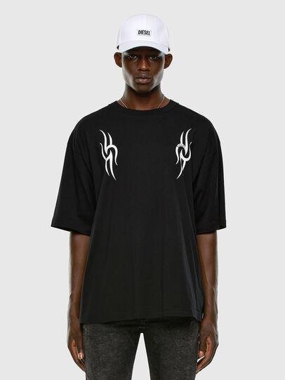 Diesel - T-BALL-X3, Negro - Camisetas - Image 5