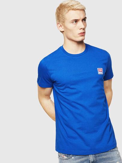 Diesel - T-DIEGO-DIV, Azul Brillante - Camisetas - Image 1
