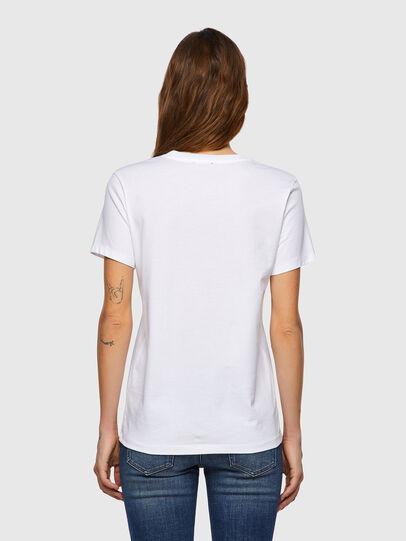 Diesel - T-SILY-B3, Blanco - Camisetas - Image 2