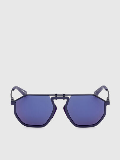 Diesel - DL0346, Azul - Gafas de sol - Image 1