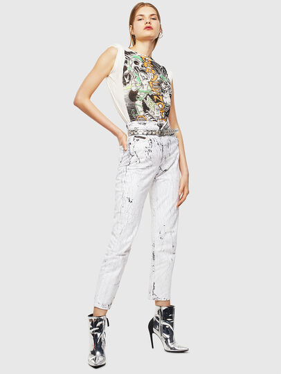 Diesel - T-DARIA-YB, Blanco - Camisetas - Image 5