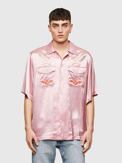 Diesel - S-MITCH, Rosa - Camisas - Image 1