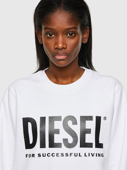Diesel - F-ANGS-ECOLOGO, Negro/Blanco - Sudaderas - Image 3