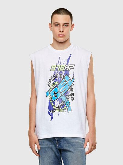 Diesel - T-OP, Blanco - Camisetas - Image 1