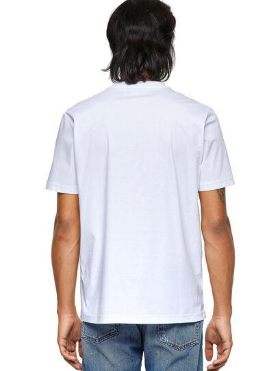 Diesel - T-JUST-ROMOHI, Blanco - Camisetas - Image 2