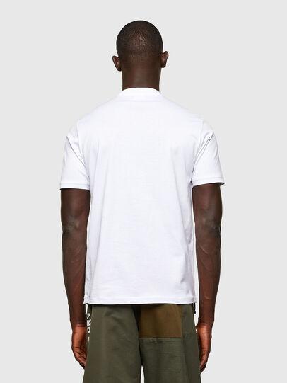 Diesel - T-JUSTY, Blanco - Camisetas - Image 2