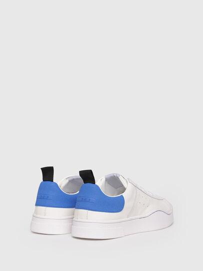 Diesel - S-CLEVER LOW, Blanco/Azul - Sneakers - Image 3