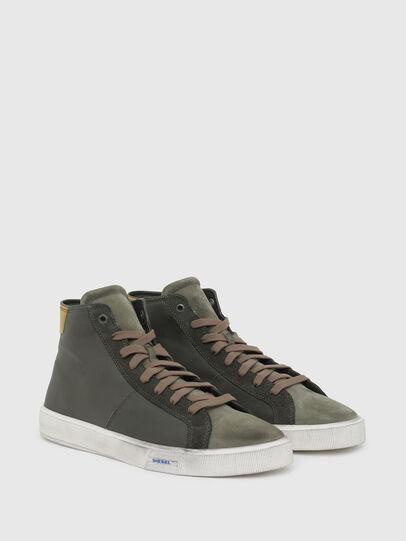 Diesel - S-MYDORI MC, Verde Militar - Sneakers - Image 2