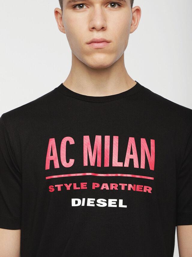 Diesel - DVL-TSHIRT-CAPSULE, Negro - Camisetas - Image 3
