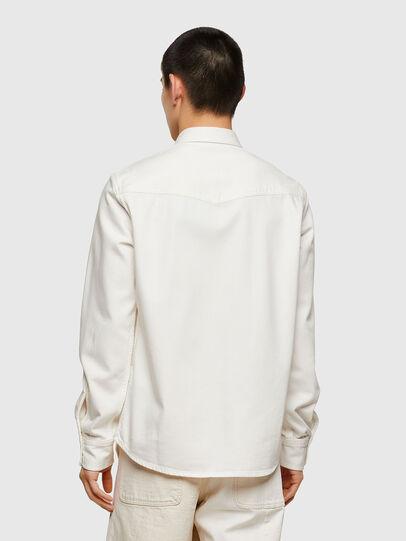 Diesel - D-EAST-P1, Blanco - Camisas de Denim - Image 2