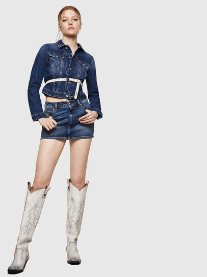 Diesel - DE-EISY, Blue Jeans - Faldas - Image 6