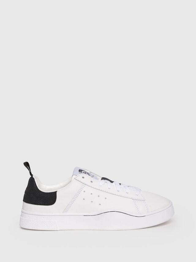 Diesel - S-CLEVER LOW W, Blanco/Negro - Sneakers - Image 1