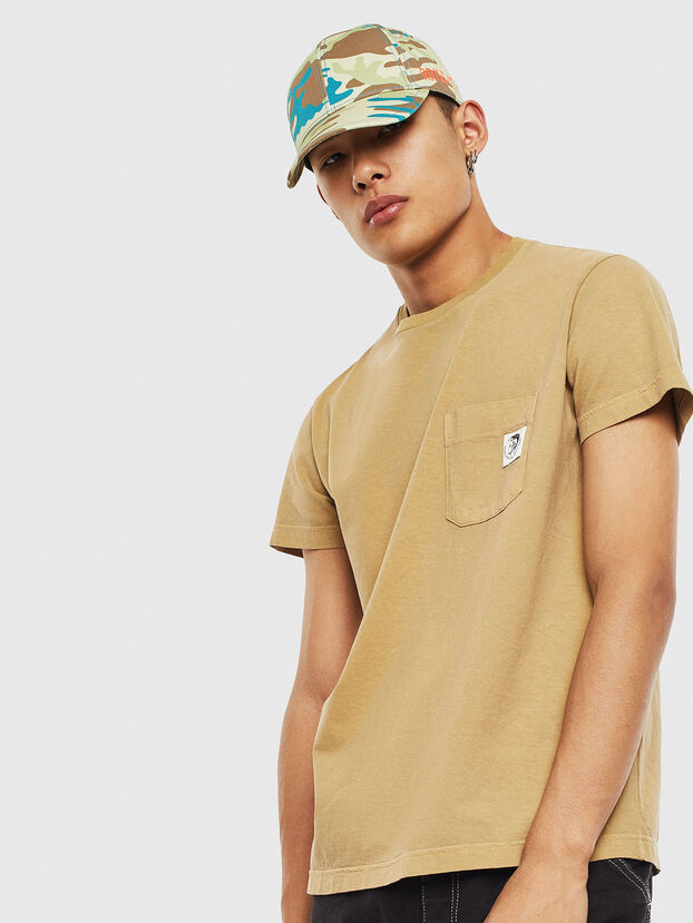 T-WORKY-MOHI-S1, Beige - Camisetas