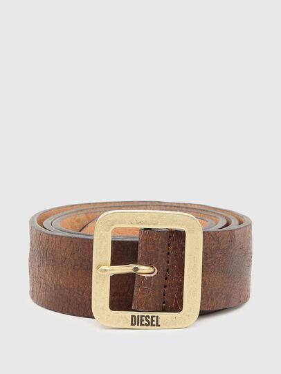 Diesel - B-ROCCO, Marrón - Cinturones - Image 1