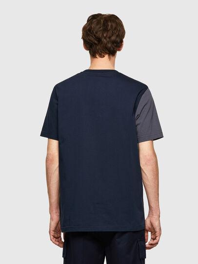 Diesel - T-RISEN-B1, Azul Oscuro - Camisetas - Image 2