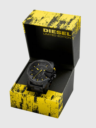 Diesel - DZ4539, Negro/Amarillo - Relojes - Image 4