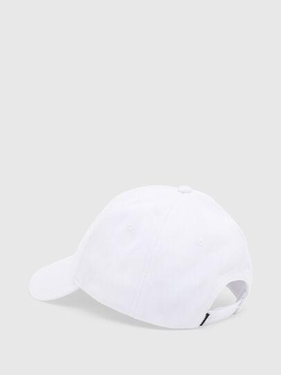 Diesel - CAP-CUTY, Blanco - Gorras - Image 2