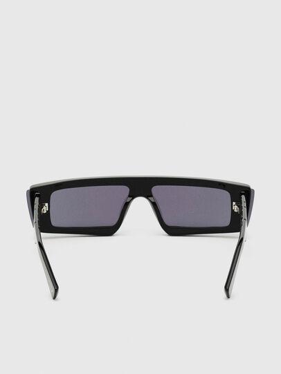 Diesel - DL0318, Negro/Azul - Gafas de sol - Image 4
