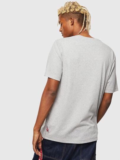 Diesel - CC-T-JUST-COLA, Gris - Camisetas - Image 3