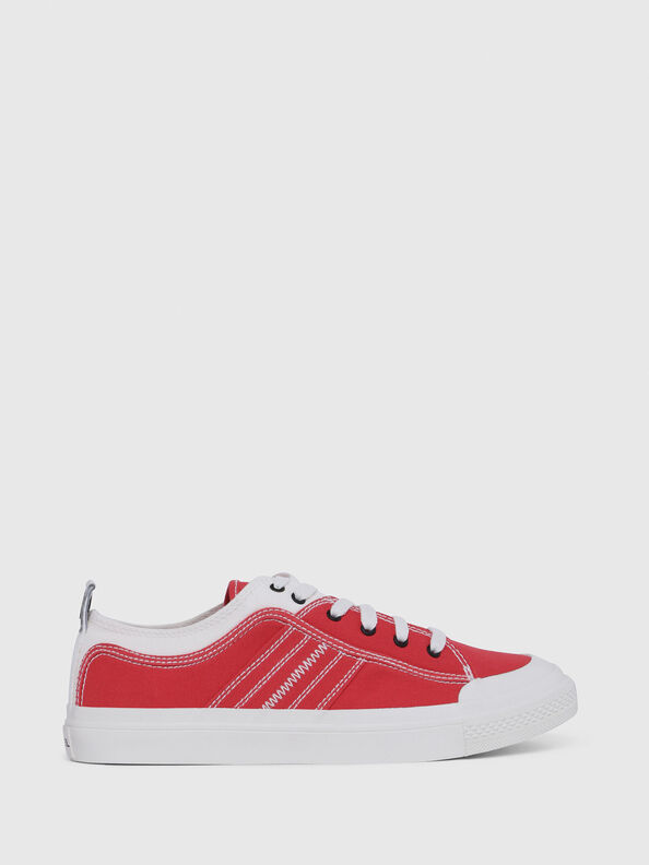 S-ASTICO LOW LACE, Rojo/Blanco - Sneakers