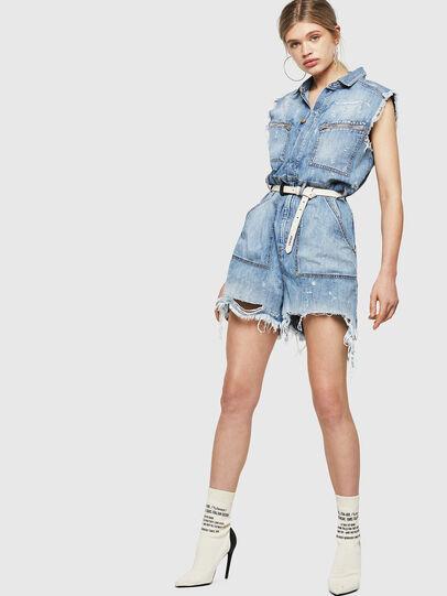 Diesel - DE-BETTE, Blue Jeans - Monos - Image 5