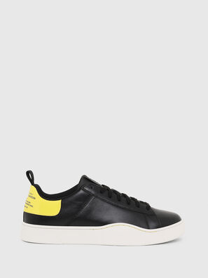 S-CLEVER LOW LACE, Negro/Amarillo - Sneakers