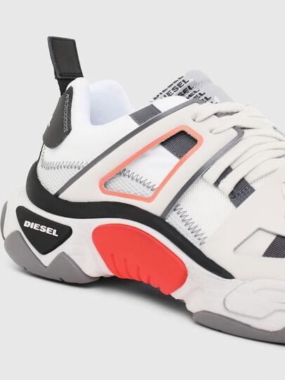 Diesel - S-KIPPER LOW TREK II, Blanco - Sneakers - Image 4