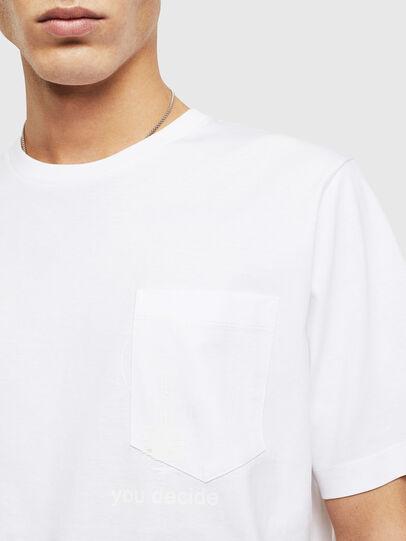 Diesel - T-JUST-POCKET-T17, Blanco - Camisetas - Image 3