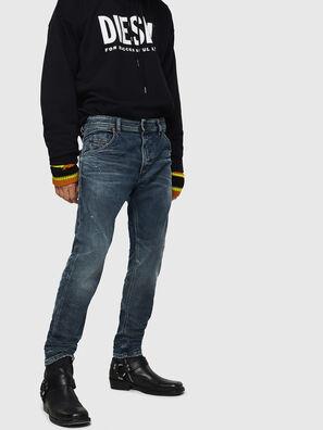 Krooley JoggJeans 0870W, Azul medio - Vaqueros