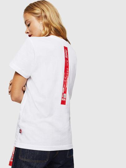 Diesel - CC-T-DIEGO-COLA, Blanco - Camisetas - Image 4