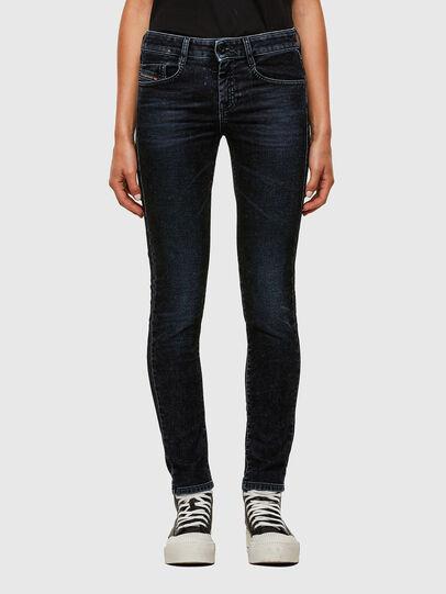 Diesel - D-Ollies JoggJeans® 069UH, Negro/Gris oscuro - Vaqueros - Image 1