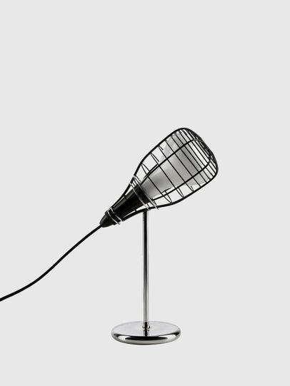 Diesel - CAGE MIC NERO, Negro - Lámparas de Sombremesa - Image 1